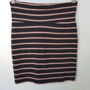 XXI women's Petite stripped mini skirt
